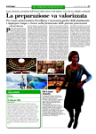 """Una pagina di """"Italia oggi"""" dedicata alla Presidente dell'UNCC"""