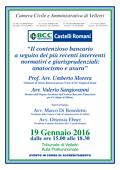 Camera Civile di Velletri – 19/01/2016