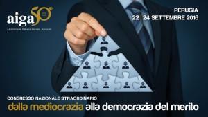 Aiga – Congresso Nazionale Straordinario – Perugia 22-24/09/2016