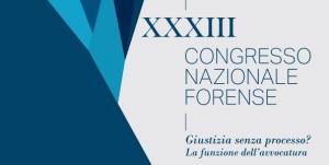 XXXIII Congresso Nazionale Forense OUA