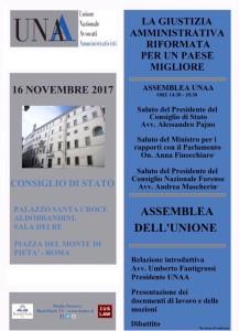 Assemblea Nazionale UNAA – Roma 16/11/2017