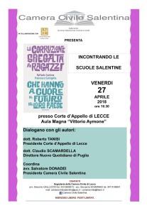 Camera Civile Lecce – 27/04/2018