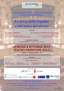 Camera Civile Rimini – 04/10/2019