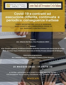 Covid-19 e contratti di durata: conseguenze inattese
